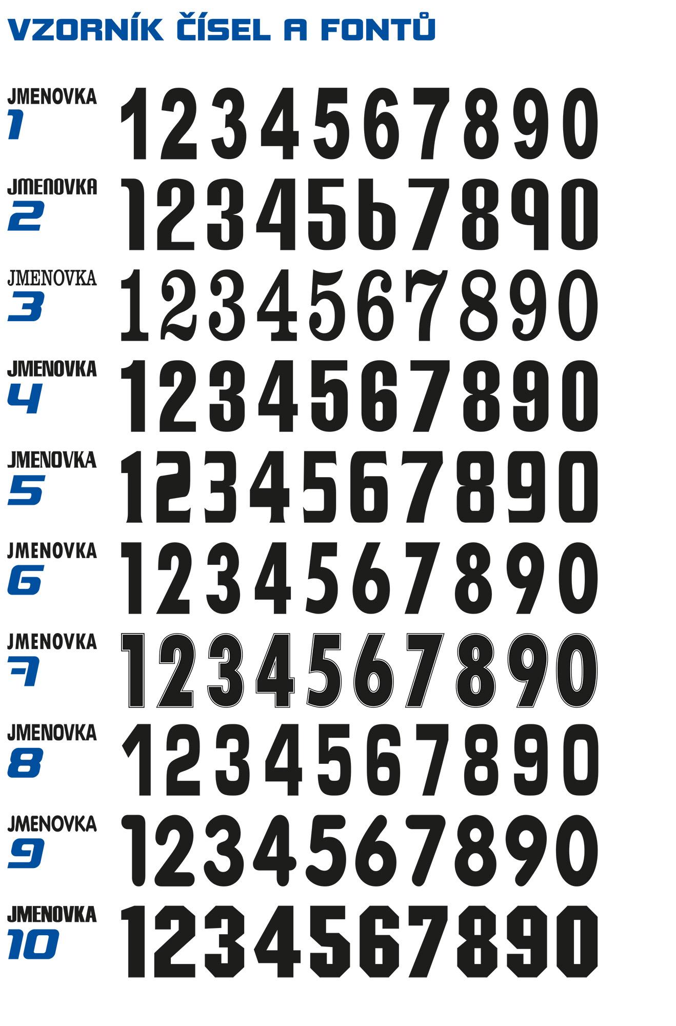 Vzorník čísel