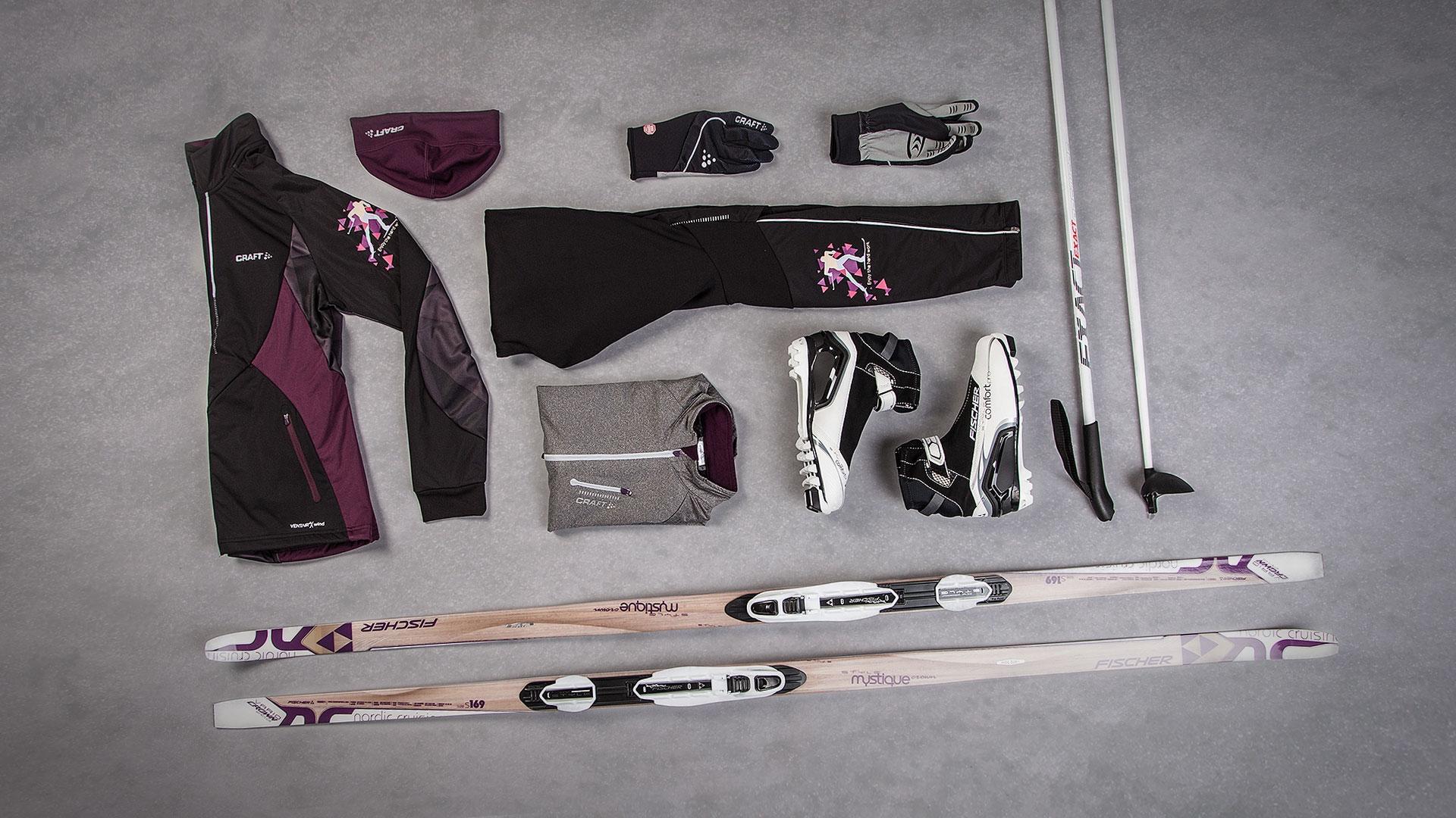Běžkařský set craft