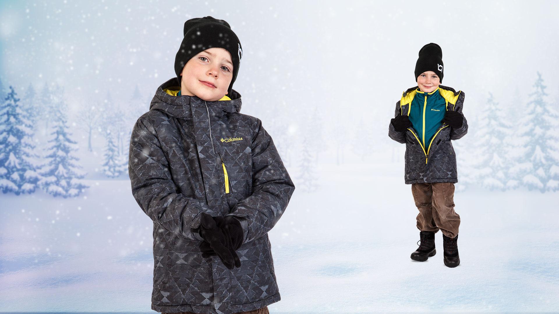 Dětský zimní set