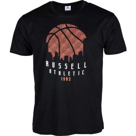 Russell Athletic B BALL SKY LINE S/S CREWNECK TEE SHIRT - Pánské tričko
