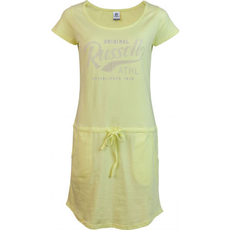 Russell Athletic ŠATY DÁMSKÉ ŽLUTÉ - Dámské šaty