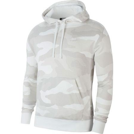 Pánská mikina - Nike NSW CLUB HOODIE PO FT CAMO M - 1