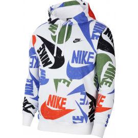 Nike NSW CLUB HOODIE PO FT AOP 1 - Pánská mikina