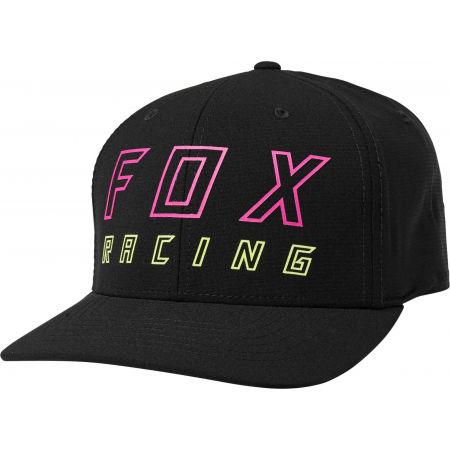 Pánská kšiltovka - Fox NEON MOTH FLEXFIT - 1