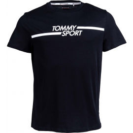 Tommy Hilfiger CORE CHEST GRAPHICS TOP - Pánské tričko