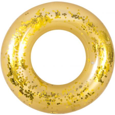 HS Sport ZLATÝ KRUH GLITTER - Nafukovací kruh