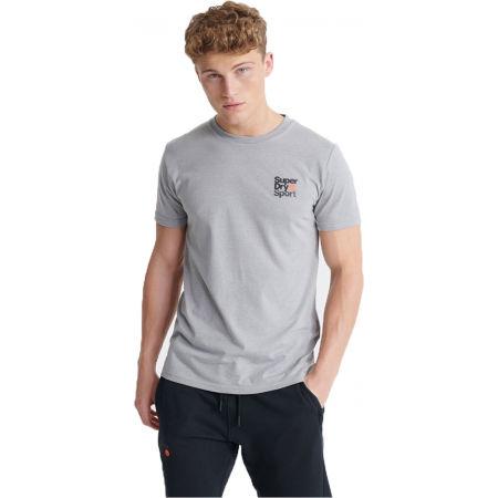 Superdry CORE SPORT SMALL LOGO TEE - Pánské tričko