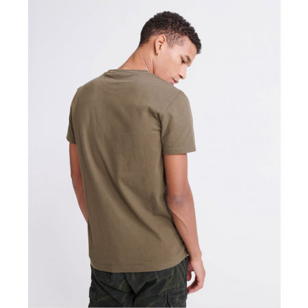 Pánské tričko - Superdry VL SHIRT SHOP BONDED TEE - 2