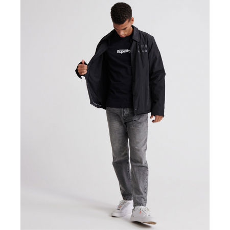 Pánské tričko - Superdry CORE LOGO ESSENTIAL TEE - 4