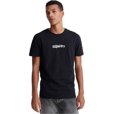 Pánské tričko - Superdry CORE LOGO ESSENTIAL TEE - 1
