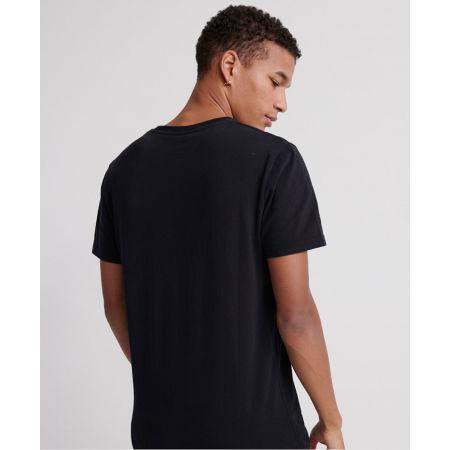 Pánské tričko - Superdry CORE LOGO ESSENTIAL TEE - 2