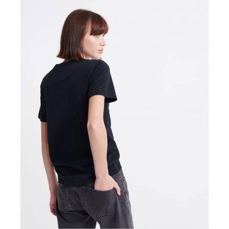 Dámské tričko - Superdry RO GLITTER EMBOSS ENTRY TEE - 3