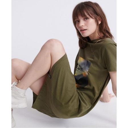 Dámské šaty - Superdry DESERT GRAPHIC T-SHIRT DRESS - 3