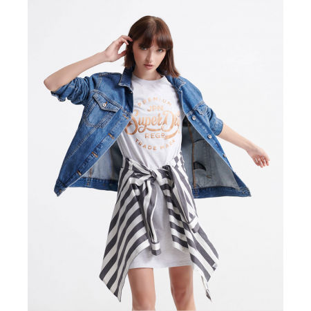 Dámské šaty - Superdry CORE T-SHIRT DRESS - 3