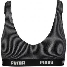 Puma METAL STRIPE  BRALETTE 1P HANG - Podprsenka