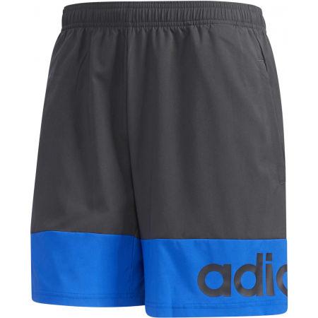 adidas D2M COLORBLOCK SHORT - Pánské kraťasy