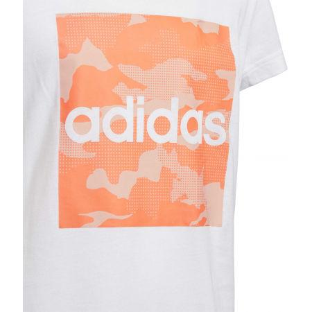 Dívčí tričko - adidas YG CAMO TEE - 3