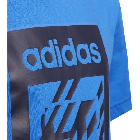 Chlapecké tričko - adidas YB BOX TEE - 3