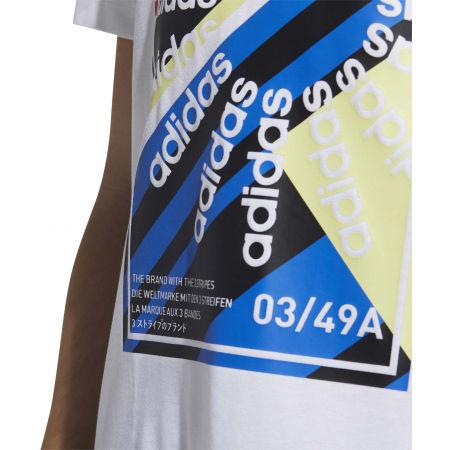 Pánské sportovní tričko - adidas CLIMA SLGN T - 8