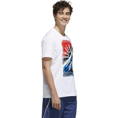Pánské sportovní tričko - adidas CLIMA SLGN T - 6