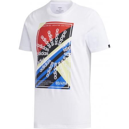 Pánské sportovní tričko - adidas CLIMA SLGN T - 1