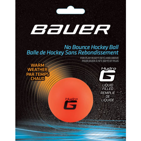 Bauer HOCKEY BALL HYDRO G WARM - Hokejové míčky