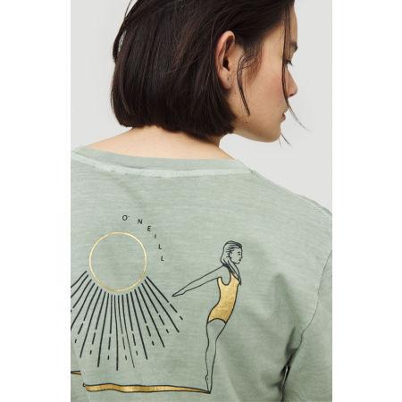 Dámské tričko - O'Neill LW LONGBOARD BACKPRINT T-SHIRT - 5