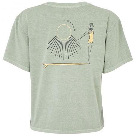 Dámské tričko - O'Neill LW LONGBOARD BACKPRINT T-SHIRT - 2