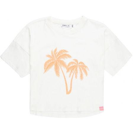 Dívčí tričko - O'Neill LG PALM T-SHIRT - 1
