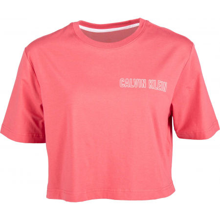 Calvin Klein CROPPED SHORT SLEEVE T-SHIRT - Dámské tričko