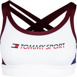 Tommy Hilfiger CO/ EL LOW SUPPORT BRA LOGO - Dámská podprsenka