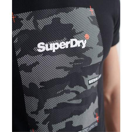 Pánské tričko - Superdry CHROMATIC TEE - 4