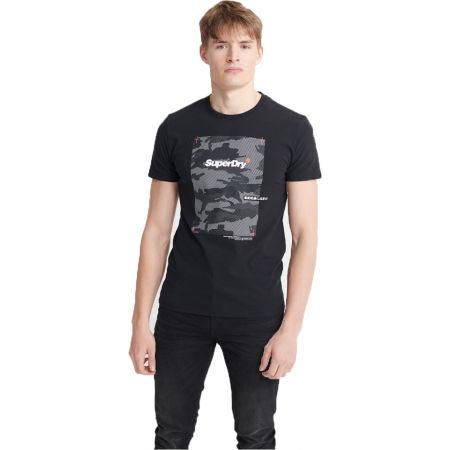 Superdry CHROMATIC TEE - Pánské tričko