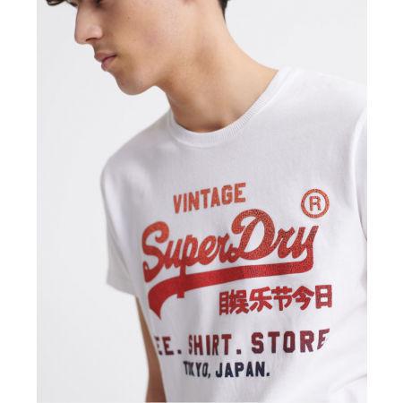 Pánské tričko - Superdry VL FADE T_SHIRT STORE TEE - 4