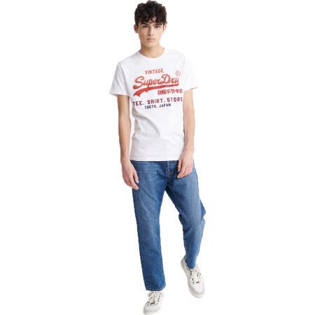 Pánské tričko - Superdry VL FADE T_SHIRT STORE TEE - 1