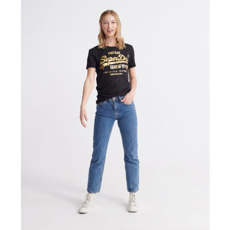 Dámské tričko - Superdry PG SNAKE BURNOUT ENTRY TEE - 4