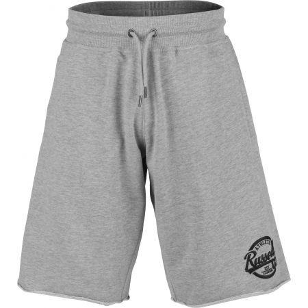 Pánské šortky - Russell Athletic COLLEGIATE RAW EDGE SHORTS - 1