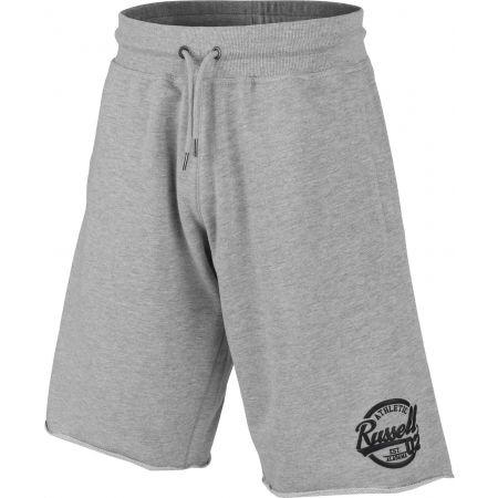 Pánské šortky - Russell Athletic COLLEGIATE RAW EDGE SHORTS - 2