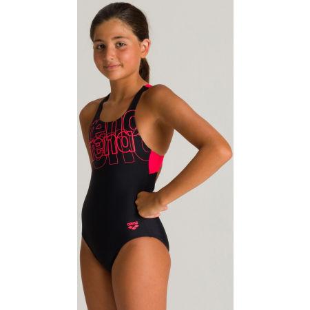 Dívčí jednodílné plavky - Arena SPOTLIGHT JR SWIM PRO BACK ONE PIECE L - 5