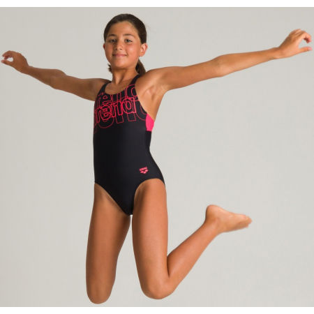 Dívčí jednodílné plavky - Arena SPOTLIGHT JR SWIM PRO BACK ONE PIECE L - 7