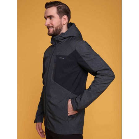 Pánská softshellová bunda - Loap LATRIC - 5