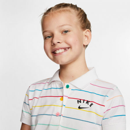 Dívčí šaty - Nike NSW DRESS POLO FB G - 5