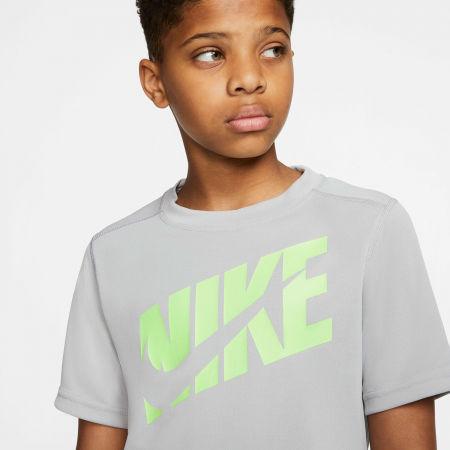 Chlapecké tréninkové tričko - Nike HBR + PERF TOP SS B - 5