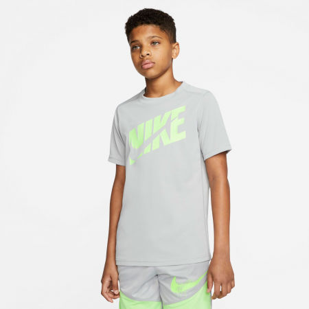Chlapecké tréninkové tričko - Nike HBR + PERF TOP SS B - 3