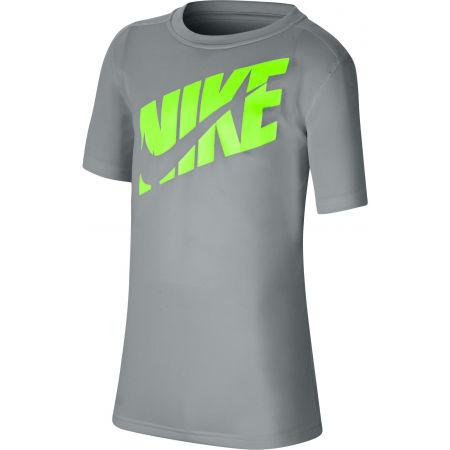 Chlapecké tréninkové tričko - Nike HBR + PERF TOP SS B - 1