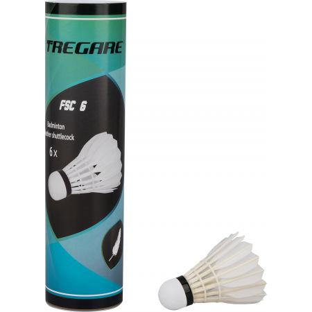 Tregare FSC 6 - Péřové badmintonové míčky