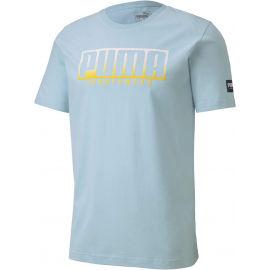 Puma ATHLETIC TEE BIG LOGO - Pánské sportovní triko