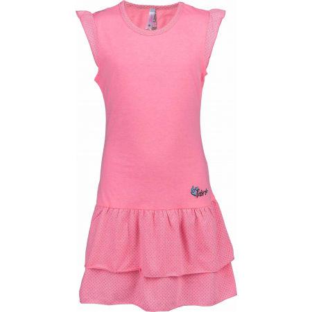 Dívčí šaty s volány - Lewro LASCO - 1
