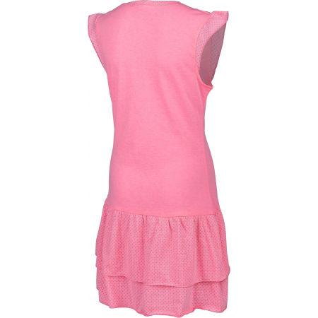 Dívčí šaty s volány - Lewro LASCO - 3