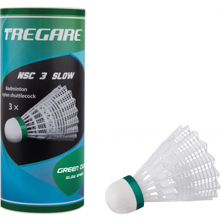 Tregare NSC 3 SLOW WHITE - Badmintonové míčky